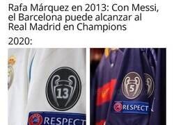 Enlace a Si con Messi sólo tienen 5 Champions, sin él se van a Segunda