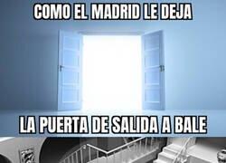 Enlace a Así está la salida de Bale del Madrid