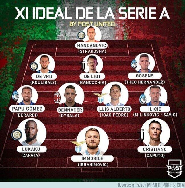 1111076 - El 11 ideal de la Serie A, por @postutd