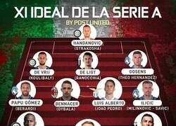 Enlace a El 11 ideal de la Serie A, por @postutd
