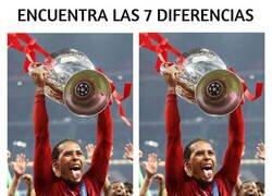 Enlace a ¡Vuelve la Champions! ¿Puedes encontrar las 7 diferencias?