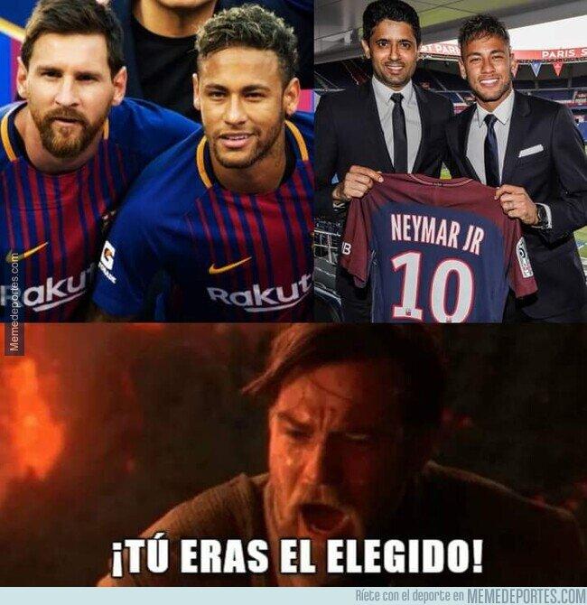 1111142 - 3 años ya de la deserción de Neymar