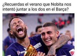 Enlace a La anécdota que hacer reír a Neymar y Verratti