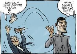 Enlace a Florentino reacciona bien al adios de Iker, por @yesnocse