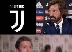 Enlace a Cuando te enteras que Pirlo es el nuevo entrenador de la Juve