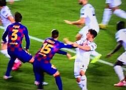 Enlace a La jugada más polémica del Barça - Napoli