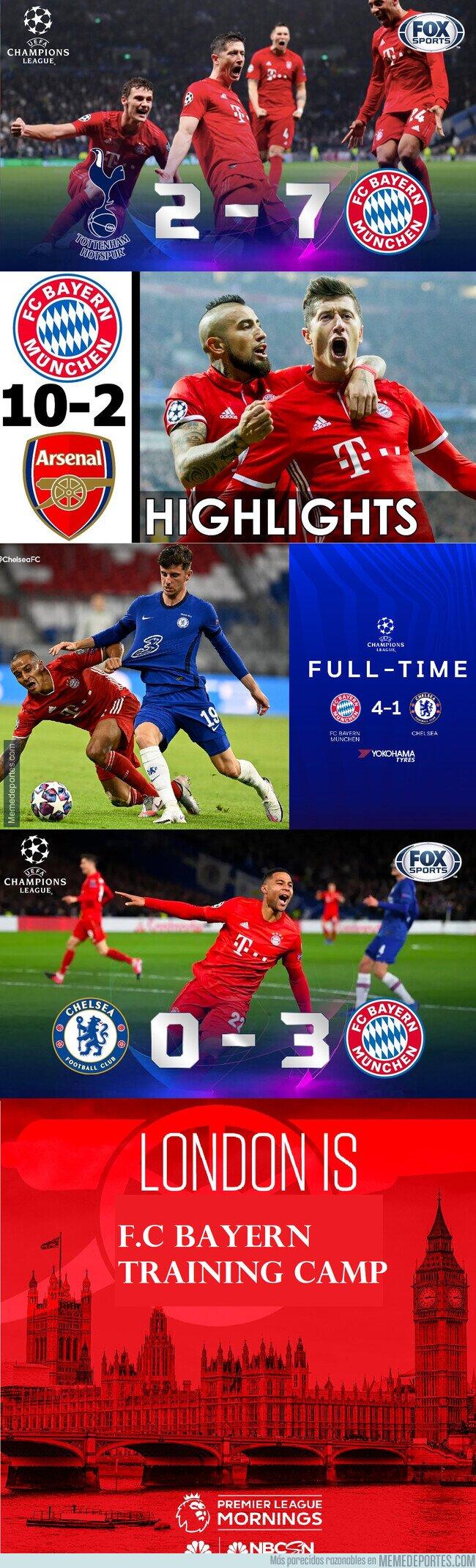 1111709 - El Bayern se pasea en Londres
