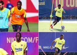 Enlace a Dembélé regresa para el choque contra el Bayern