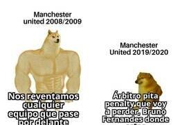 Enlace a Manchester United en la actualidad