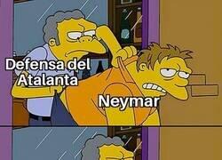 Enlace a Neymar se la sacó