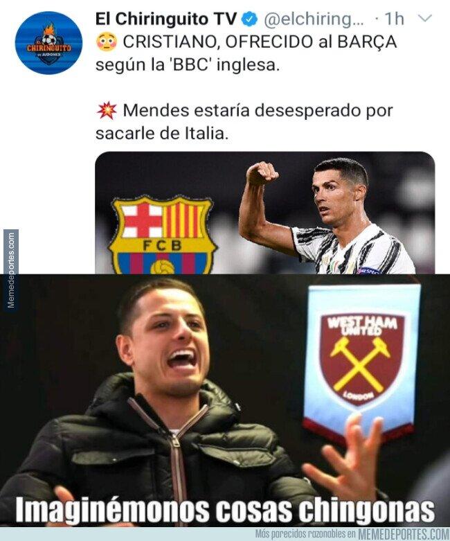 1112187 - ¿Os imagináis a Messi y CR7 juntos en el Barça?