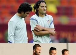 Enlace a Con menos pelo, pero Falcao y Arda Turan se han reencontrado en el Galatasaray