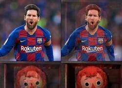 Enlace a Messi contra el Bayern