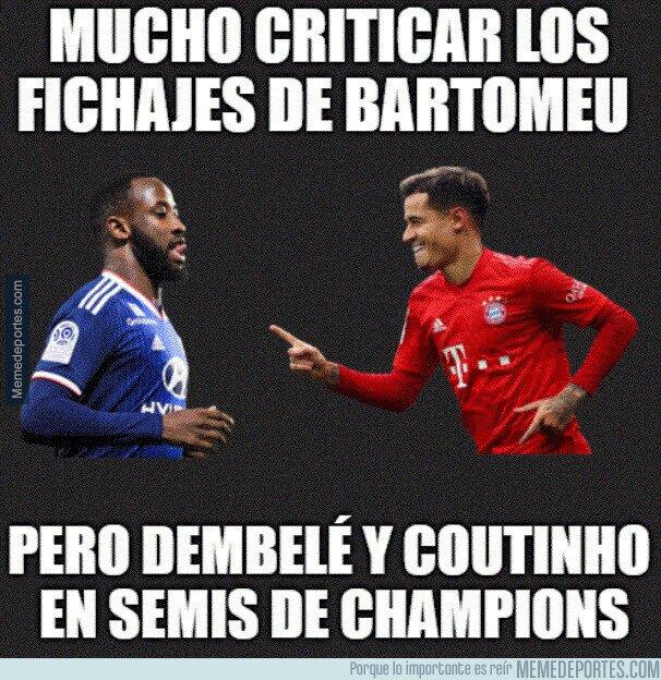 1112995 - Coutinho y Dembelé están dando sus frutos