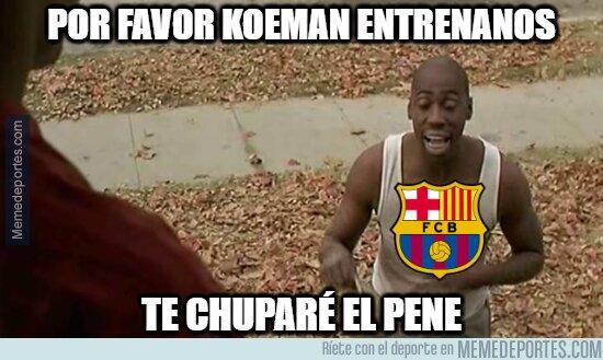 1113231 - Directivo del Barcelona convenciendo a Koeman