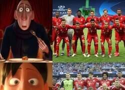 Enlace a Equipos de leyenda en el Bayern