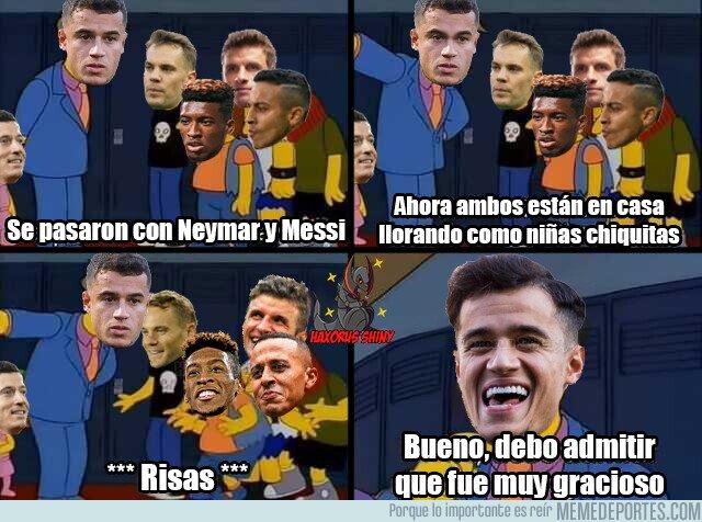 1113971 - Neymar y Messi llorando