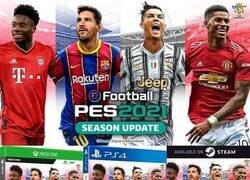 Enlace a Messi y CR7 comparten cara en una portada... ¿temporal?