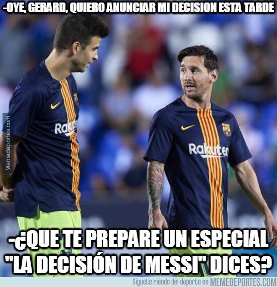 1114131 - En Argentina dicen que Messi anunciará en breve su futuro