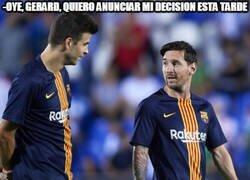 Enlace a En Argentina dicen que Messi anunciará en breve su futuro