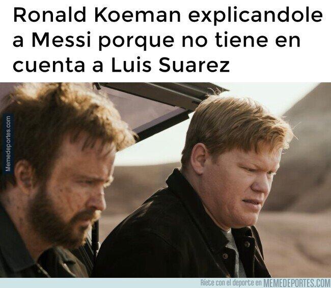 1114137 - Spoiler de que Messi al final se carga a Koeman