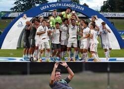 Enlace a Primera Uefa Youth League, y de la mano de Raúl como entrenador