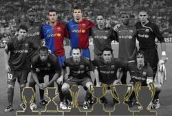Enlace a El Barça del sextete, a punto de desaparecer