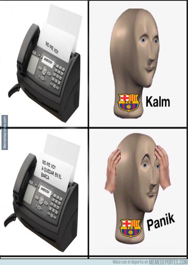 1114373 - El fax de Messi generó falsas ilusiones