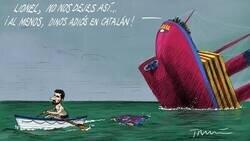Enlace a El capitán abandona el barco por Tomás Serrano