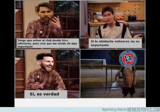 1114721 - Nadie se acuerda de Messi jugando en Central Córdoba de Rosario