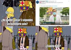 Enlace a Otro ridículo del Barcelona en el caso Messi