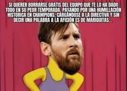 Enlace a Los valors de Messi