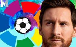 Enlace a Tres imágenes juntas que demuestran que LaLiga sin Messi será la nueva liga de granjeros que a nadie le importará