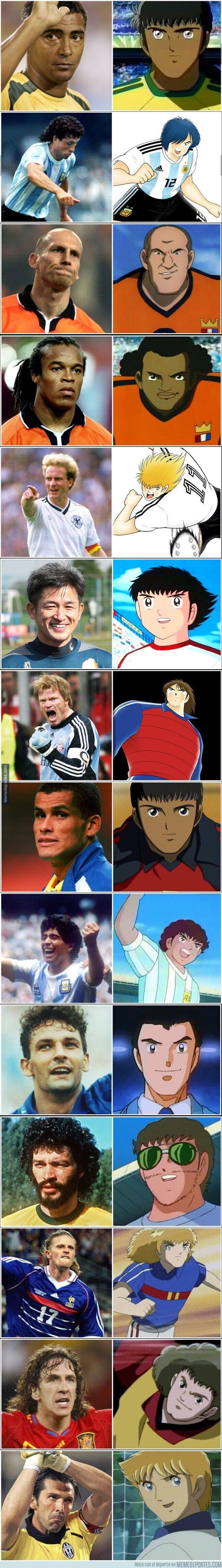1114911 - En estos futbolistas reales se inspiraron para crear los personajes de la serie Campeones