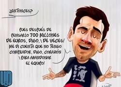 Enlace a Messi se queda