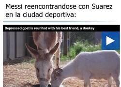 Enlace a Messi regresa a entrenamientos