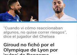 Enlace a Benzema es el punching ball de Francia