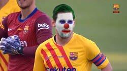 Enlace a Messi regresando a jugar con el Barça despues de oficializar su salida