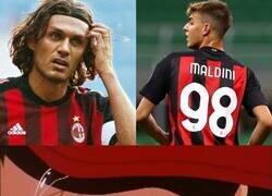 Enlace a De nuevo un Maldini en casa