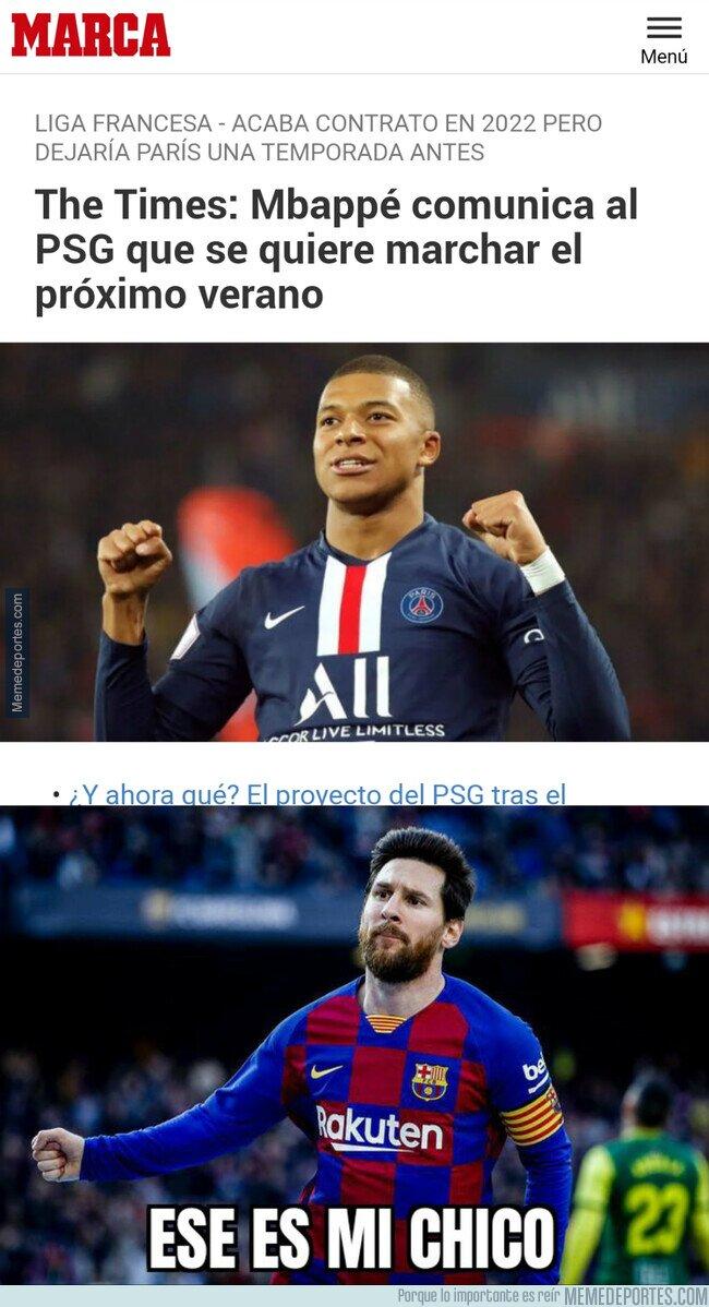 1115626 - Mbappé haciéndose un Messi