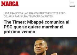 Enlace a Mbappé haciéndose un Messi