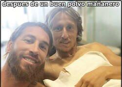 Enlace a Simplemente Modric y Ramos