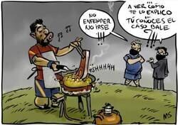 Enlace a Suárez tiene la sartén por el mango, por @yesnocse