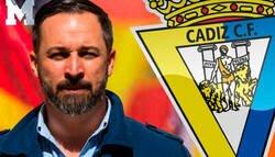 Enlace a Santiago Abascal trolea al alcalde de Cádiz por como se podría llamar el estadio de la ciudad
