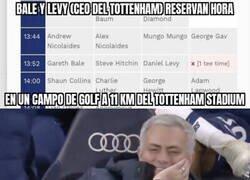Enlace a Mou representa a los fan del Tottenham (y del Madrid) ahora mismo