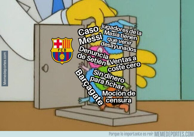 1115956 - Los problemas se acumulan en Can Barça