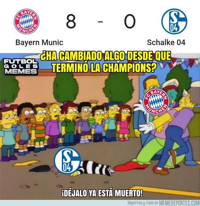 1115999 - Bayern 8 a 0 Schalke