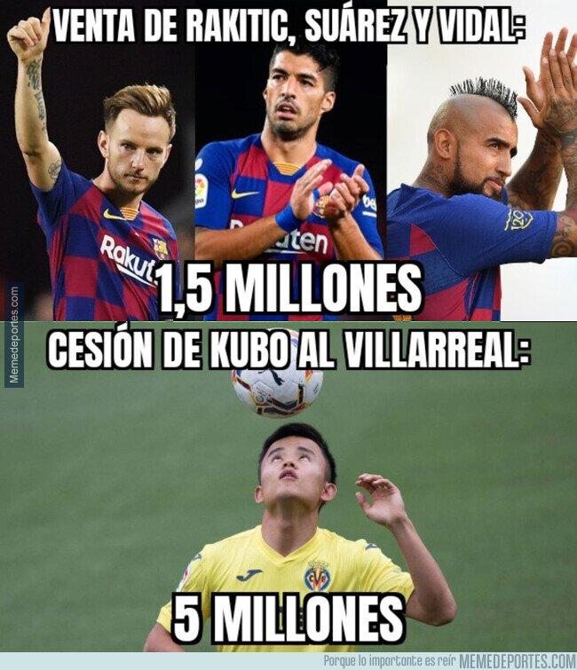 1116018 - Creo que el Madrid vende ligeramente mejor
