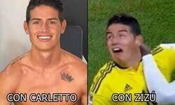Enlace a En 2 fechas de primer, Ancelotti recupera a James