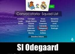 Enlace a La primera convocatoria de la temporada del Madrid tiene senda sorpresa.